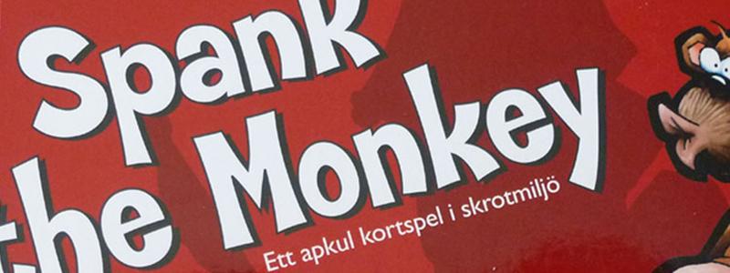 spank the monkey brädspel sällskapsspel spelglädje
