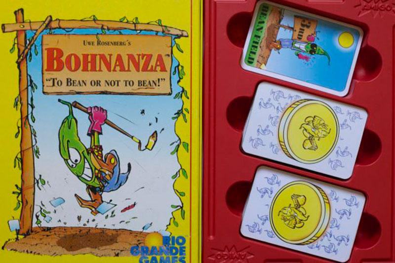 bohnanza brädspel sällskapsspel spelglädje