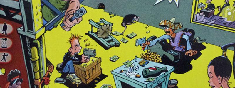 cash ´n guns brädspel spelglädje sällskapsspel