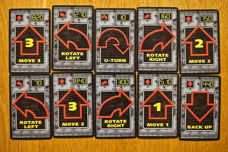 roborally spelglädje brädspel sällskapsspel
