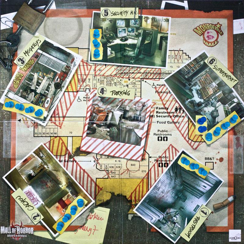 mall of horror spelglädje sällskapsspel brädspel