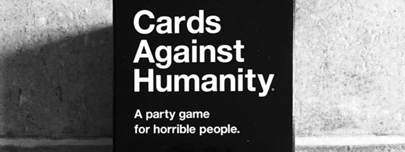 spelglädje brädspel sällskapsspel cards against humanity