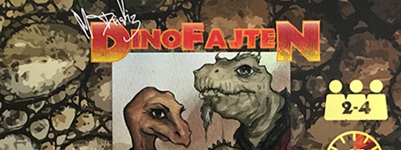 spelglädje brädspel sällskapsspel dinofajten