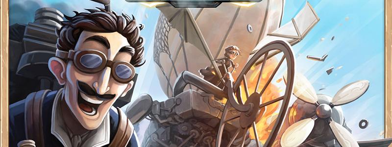 spelglädje brädspel sällskapsspel Steampunk rally
