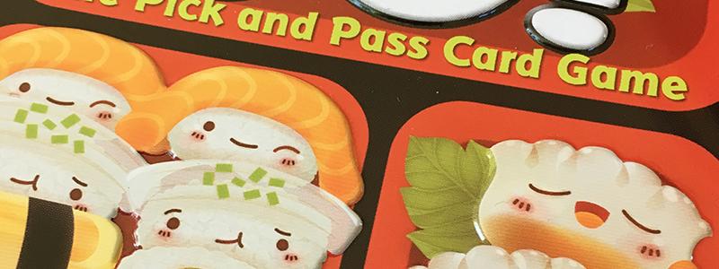 spelglädje brädspel sällskapsspel Sushi go