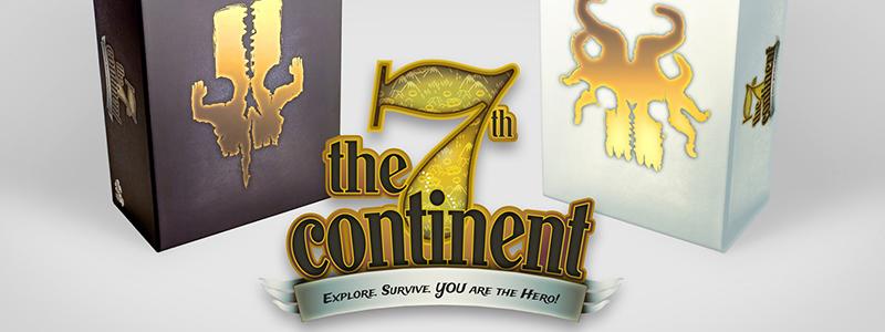spelglädje brädspel sällskapsspel 7th continent