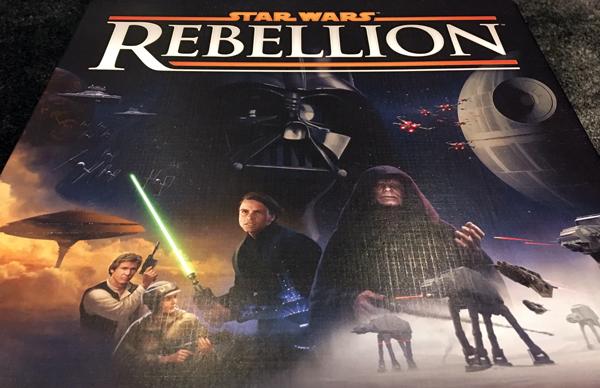 spelglädje brädspel sällskapsspel star wars: Rebellion