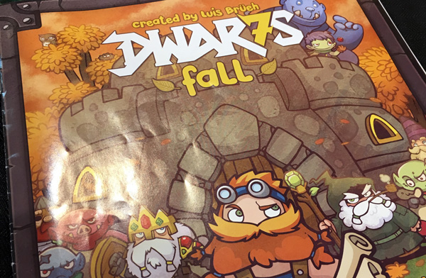 dwar7s fall spelglädje brädspel sällskapsspel