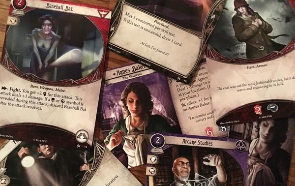 arkham horror: The card game Arkham Horror Spelglädje brädspel sällskapsspel