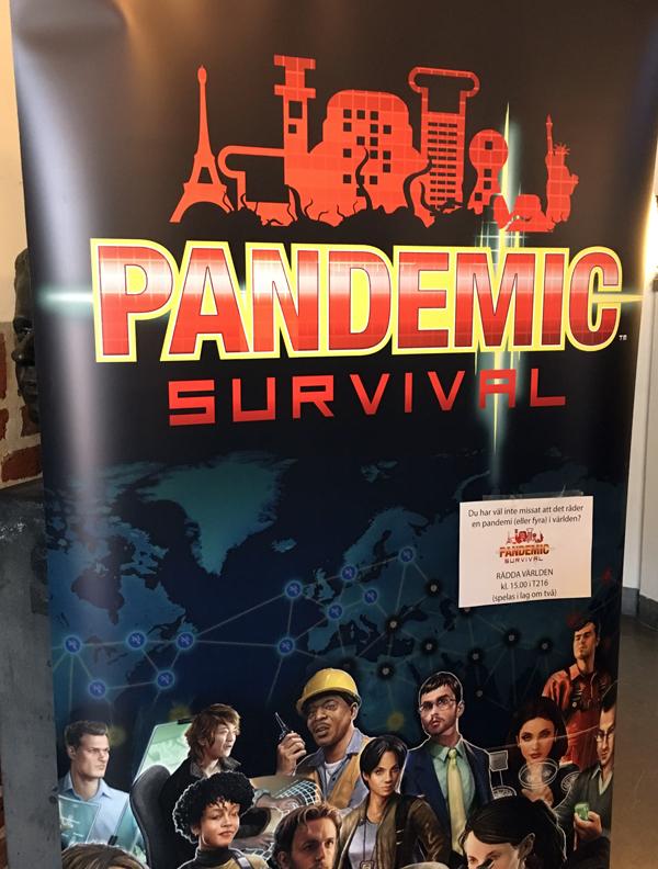 spelglädje brädspel sällskapsspel pandemic survival