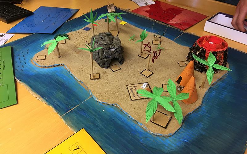 spelglädje brädspel sällskapsspel öde ö
