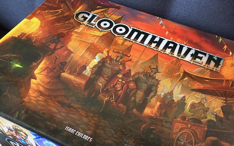 Gloomhaven brädspel spelglädje sällskapsspel