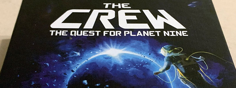the crew: the quest for planet nine spelglädje sällskapsspel brädspel